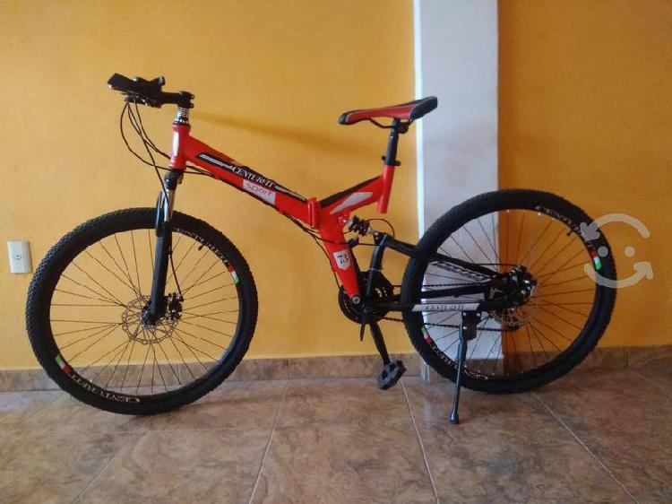 Bicicleta plegable rodada 26