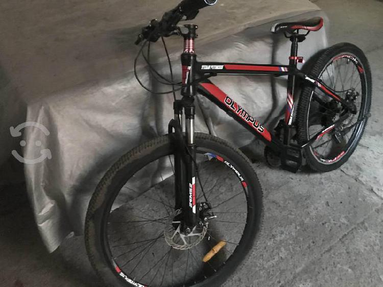 Bicicleta olimpus rodado 26 montaña aluminio