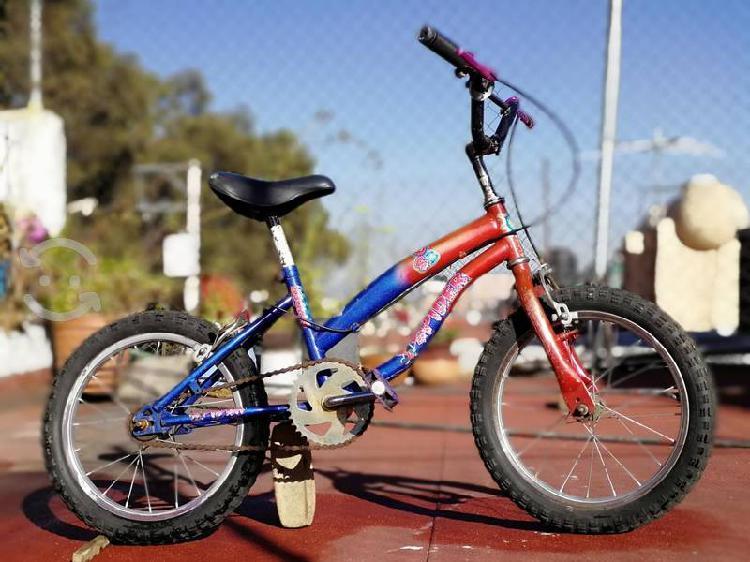 Bicicleta para niño rodada 16 spiderman