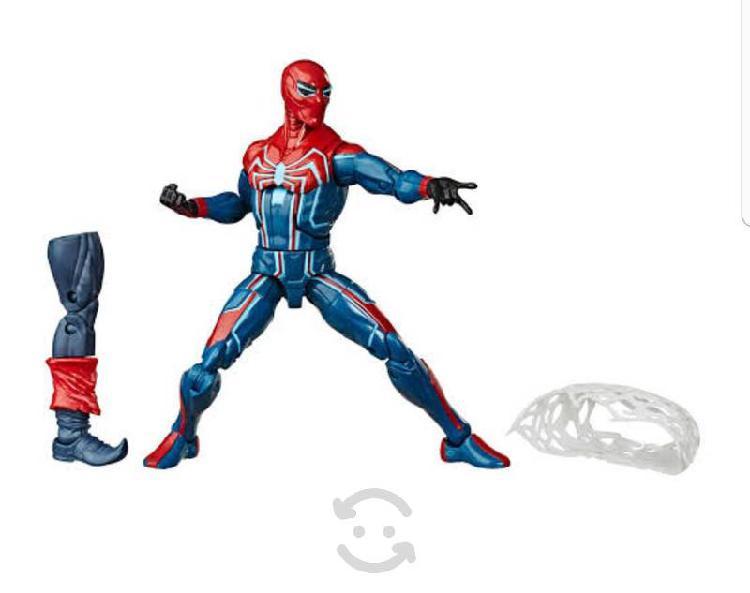 Figura hombre araña hipervelocidad marvel legends