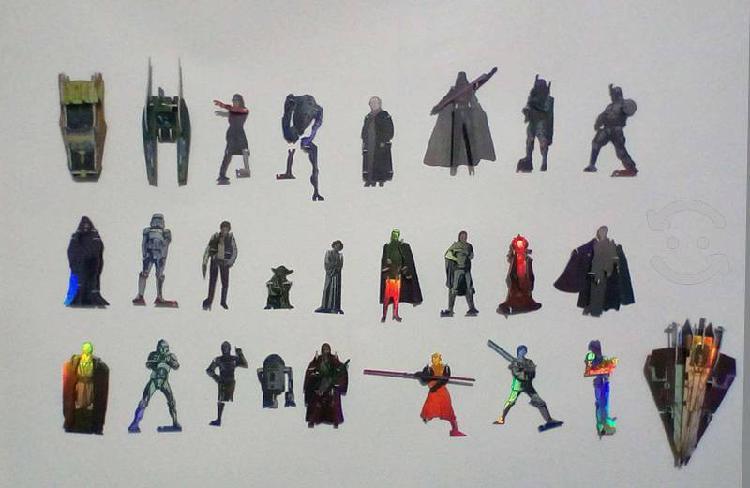 Figuras armables star wars del año 2002