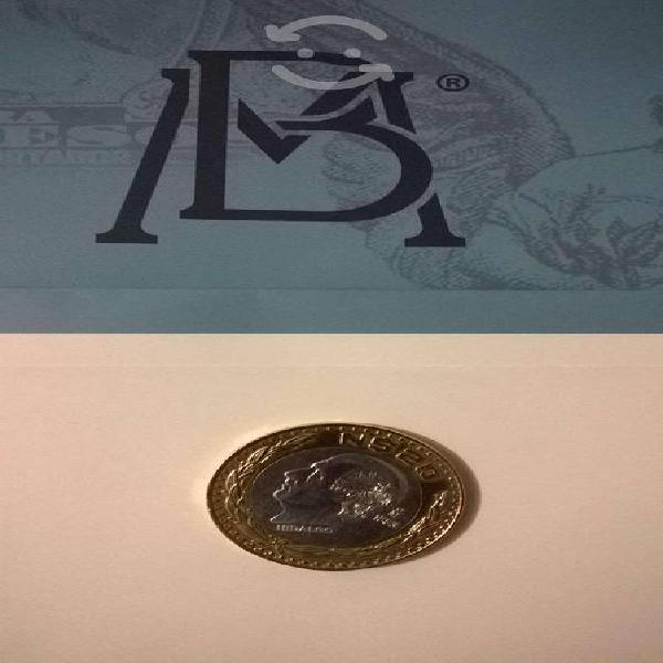 Monedas de 20 pesos lote 380 pzas