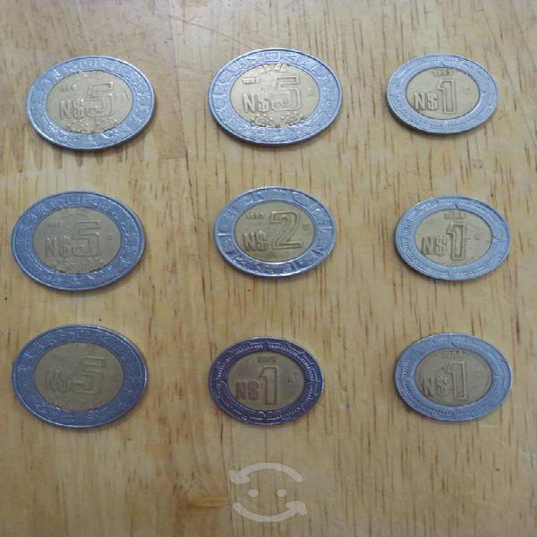 Monedas nuevos pesos