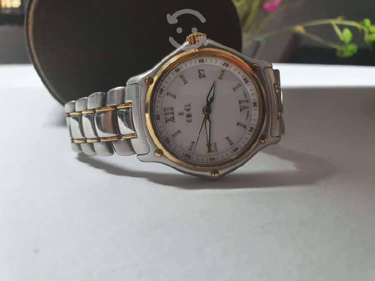 Reloj para caballero ebel acero/oro 18k original