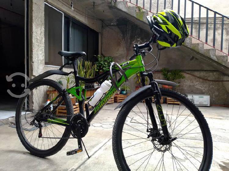 Bicicleta rodada 29 totalmente aluminio v/c
