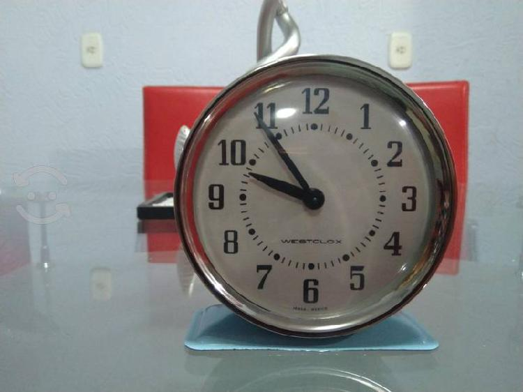 reloj antíguo westclox