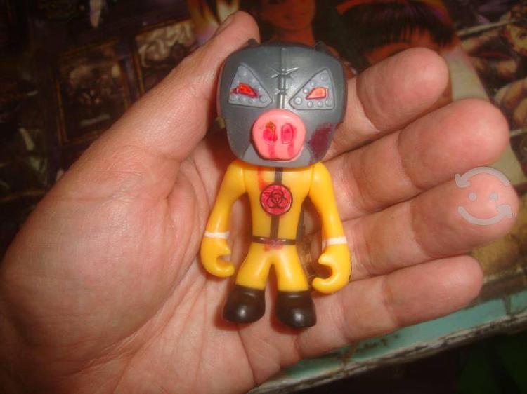Small toy mutant booster juguete oberol amarillo
