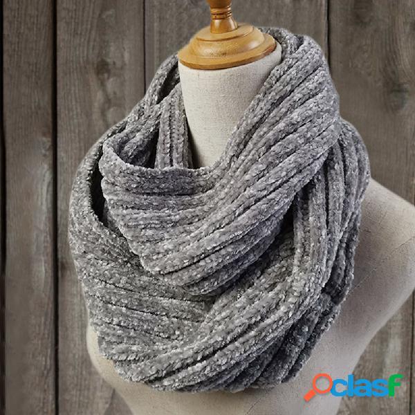 Mujer vendimia bufandas y chales abrigo de ganchillo abotonado patrón