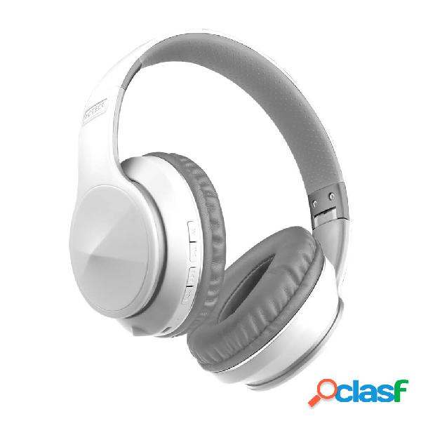 Acteck audífonos con micrófono void, bluetooth, alámbrico/inalámbrico, 3.5mm, blanco