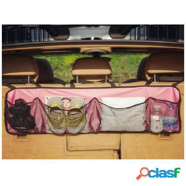 Almacenamiento en el maletero del automóvil bolsa almacenamiento bolsa almacenamiento multifunción para el automóvil bolsa respaldo del asiento bolsa