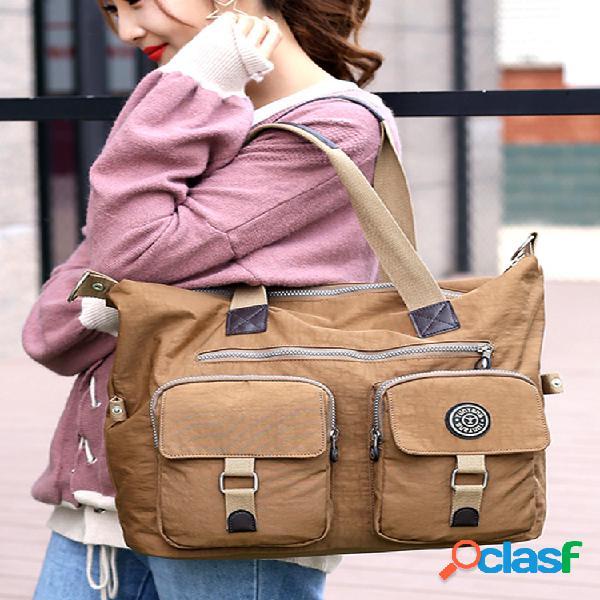 Bolso momia bolsa 2018 otoño nuevo mujer bolsa bolso de viaje de gran capacidad impermeable ms. shoulder bolsa
