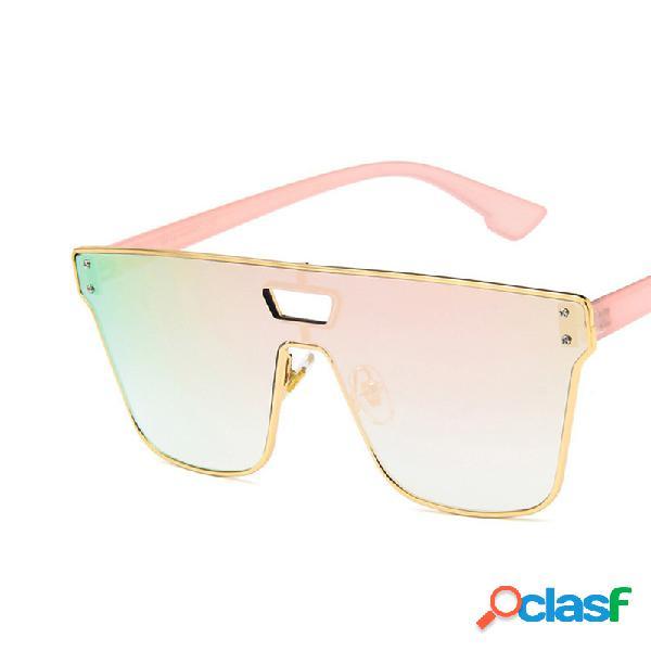 Hombre mujer universal al aire libre playa sport uv-400 protección gafas de sol de moda