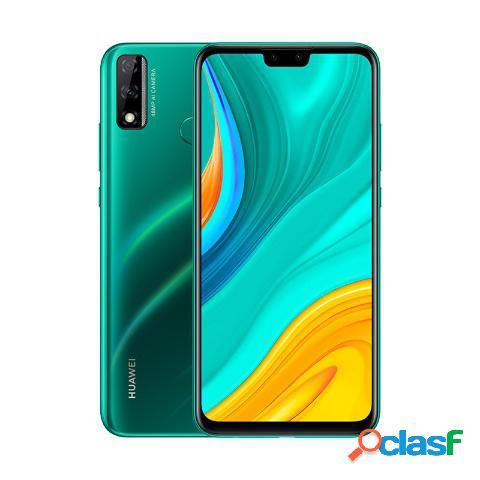 "Smartphone huawei y8s 6.5"", 2340 x 1080 pixeles, 64gb, 4gb ram, 4g, android 9.0, verde"