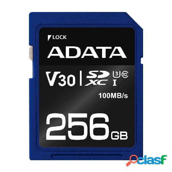 Memoria flash adata premier pro, 256gb sdxc uhs-i clase 10