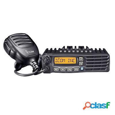 Icom radio digital portátil de 2 vías ic-f6123d/54, 128 canales, negro