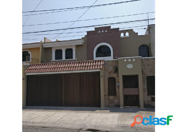 Bonita casa en renta ciudad del sol, zapopan