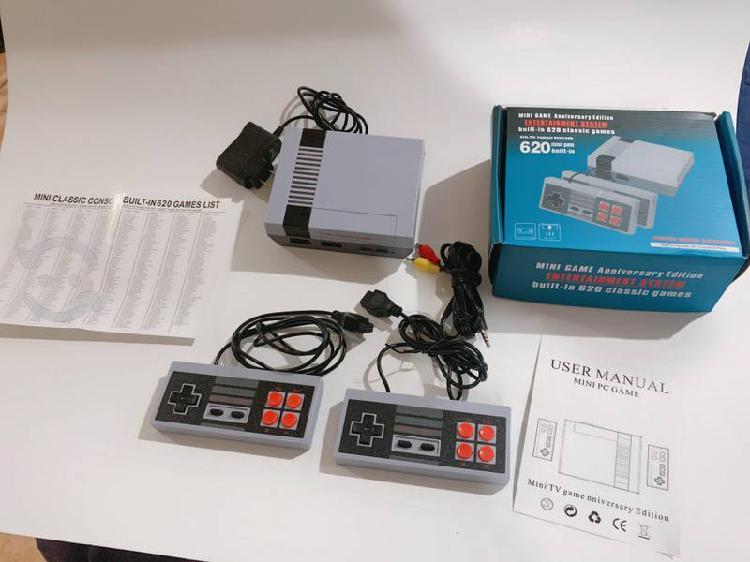 Consola retro 620 juegos clásicos