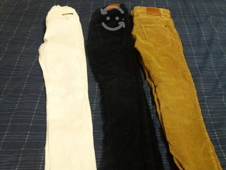 Lote pantalones niño 9/10 años, zara