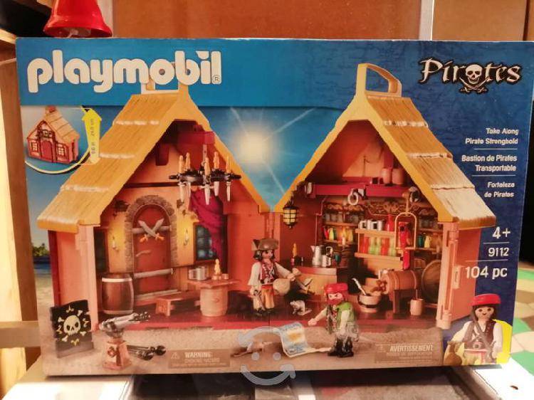 Playmobil taberna pirata portátil