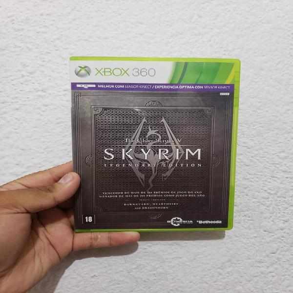 Skyrim legendary edition xbox 360