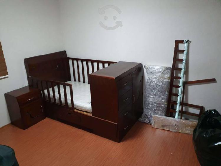 Vendo cuna-cama individual