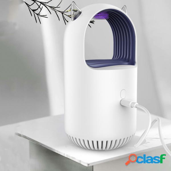 5v usb led disipador de mosquitos repelente de mosquitos trampa ligera para plagas lámpara al aire libre cámping