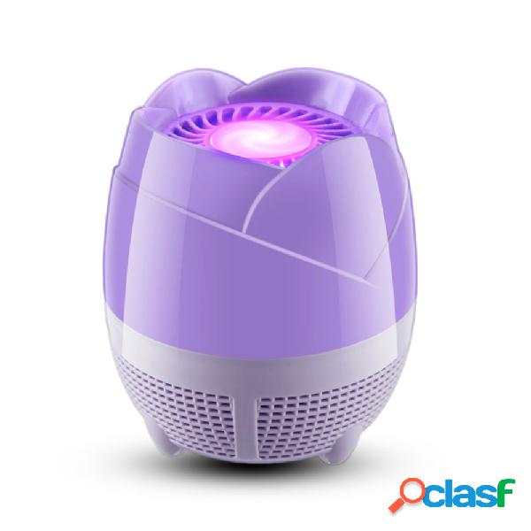 Loskii-600 anti-mosquito lámpara fotocatalizador sin radiación mosquito killer usb led trampa de luz nocturna