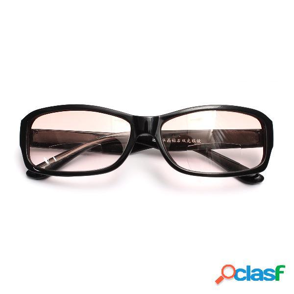 Nuevo bifocal negro gafas de lectura gafas de sol gafas de lectura doble función gafas cuidado de los ojos