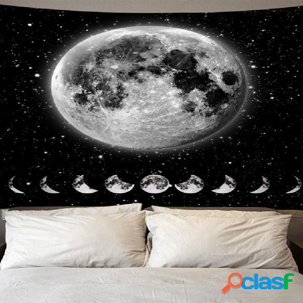Tapiz de mandala indio sun tarot tapiz de luna tapiz de alfombras psicodélicas
