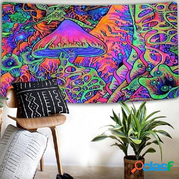 Fondo psicodélico de setas abstractas fondo de tela decoración de pared tapiz de tela decoración del hogar tapiz mural