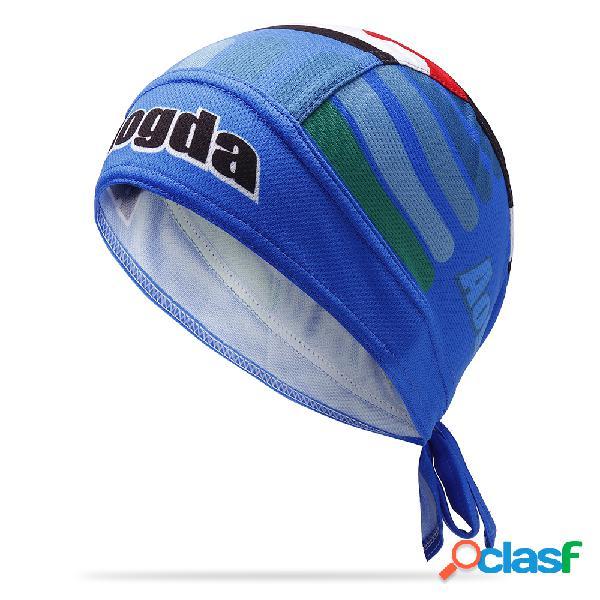 Hombres mujer algodón pirata sombrero transpirable ciclismo ajustable deportes beanie cap street dance headpiece