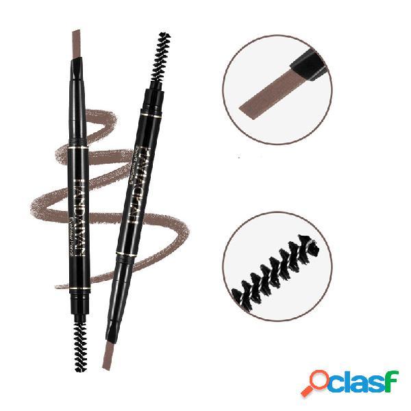 Automático ceja lápiz de larga duración ceja lápiz impermeable a todo color ceja cosmético para ojos