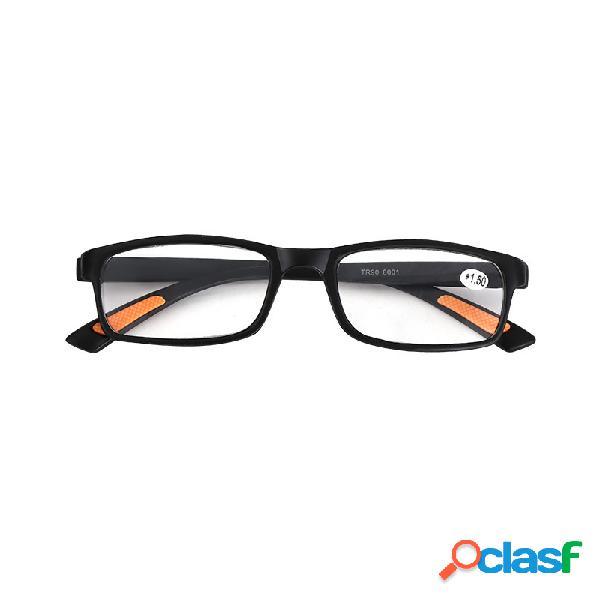 Nuevos anteojos de lectura unisex gafas presbyopic ligeras super-elásticas portátiles 1.00- 2.50 dioptrías
