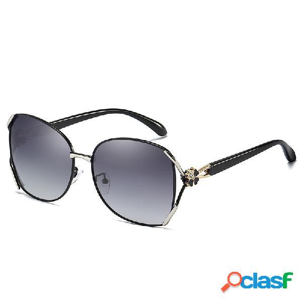 Gafas de sol wild fashion hd uv400 para mujer gafas de sol polarizadas para conducir al aire libre