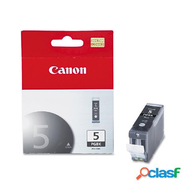 Cartucho canon pgi-5 negro, 26ml, 550 páginas