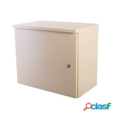 Epcom gabinete de acero para exteriores, 46 x 27.3cm, beige