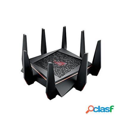 Router asus gigabit ethernet rog rapture gt-ac5300 con aimesh, inalámbrico, 1900 mbit/s, 8x rj-45, 2.4/5ghz - ¡optimizado para gaming!