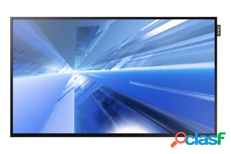 Samsung db32e pantalla comercial led 32'', full hd, widescreen, negro