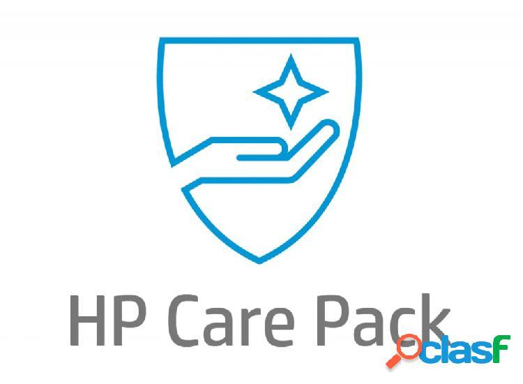 Servicio hp care pack 2 años devolución a hp para laptops (uk734e)