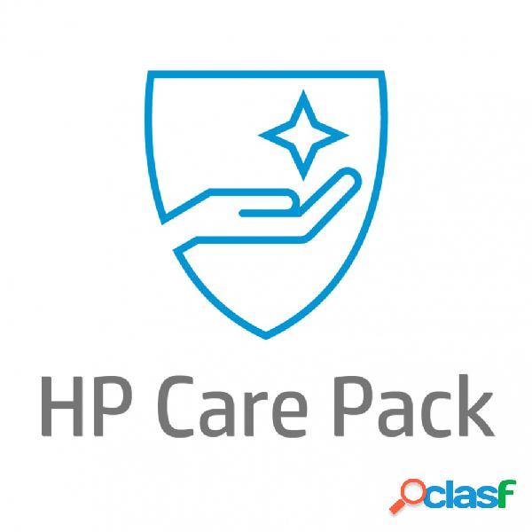 Servicio hp care pack 2 años devolución al almacén para laptops (um928e)
