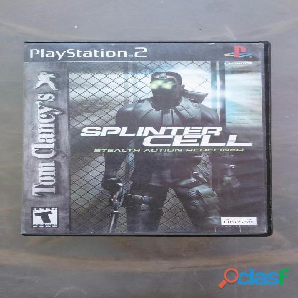 Splinter cell para play station 2