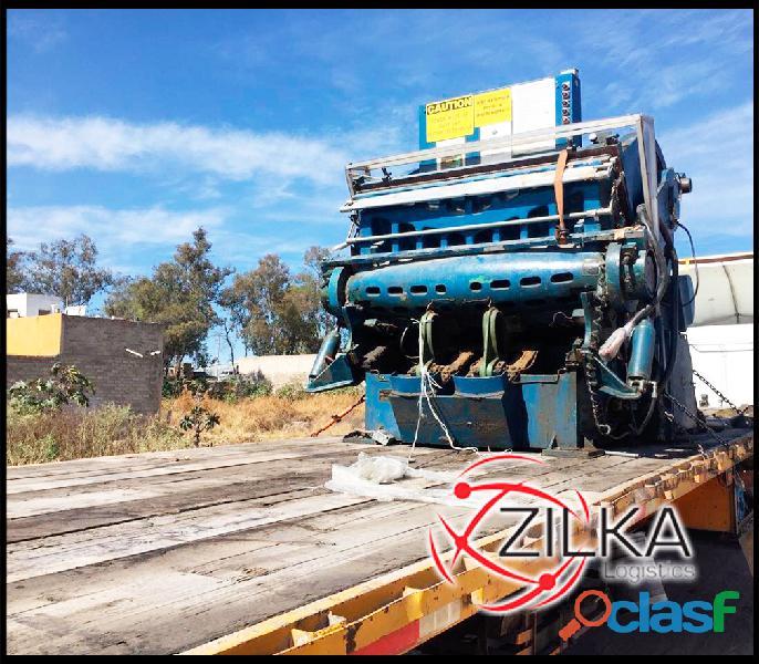 Transportes para carga pesada economicos