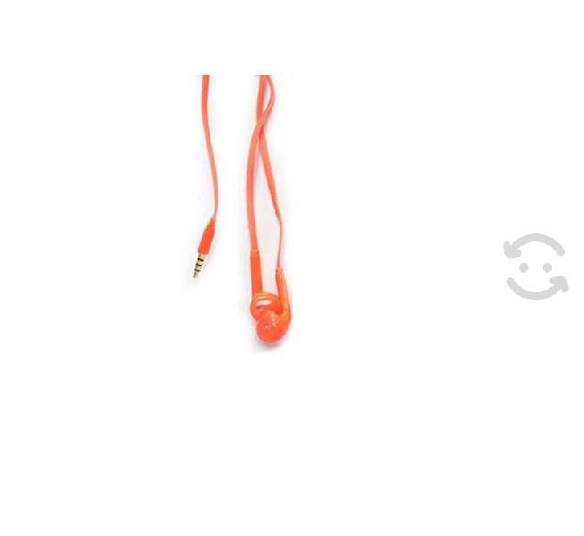 Audífonos vorago ep-201 rojo 3,5mm microfono manos