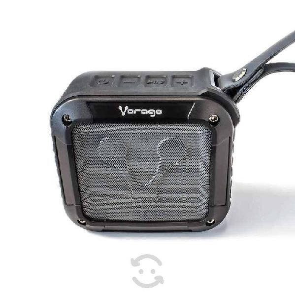Bocina vorago bsp-300 3w negro bluetooth portatil