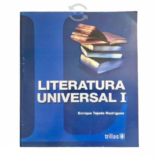 Literatura universal 1 - enrique tejeda rodríguez
