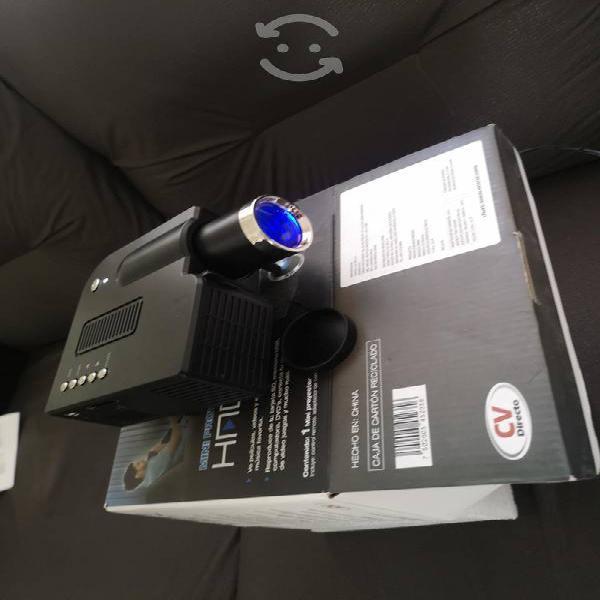 Mini proyector led portátil