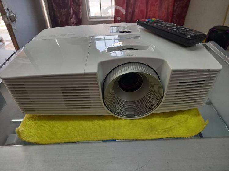 Proyector acer h5380bd 3d con control y soporte