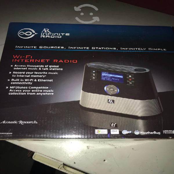 Radio wifi internet/fm