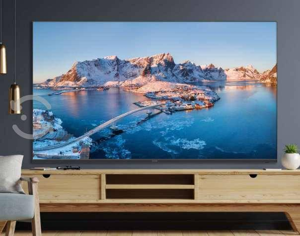 "Sharp pantalla 65"" smart tv uhd 4k"
