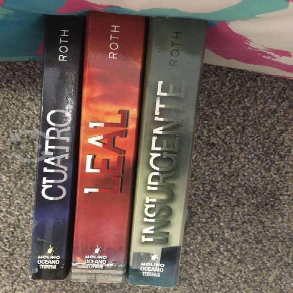 Tres libros saga divergente